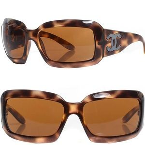 Chanel Tortoiseshell Brown 5076H Sunglasses